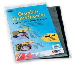 Grafietpapier, 10 vellen in DIN A4.