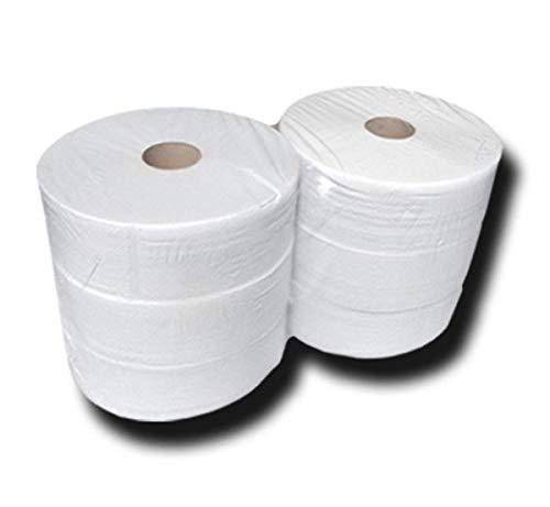 Palette Toilettenpapier-Jumborollen, Jumbo Toilettenpapier, Klopapierrollen, 2 lagig, Zellstoff, ca. 26cmx360m, 288 Stk