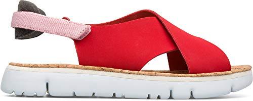 Camper Womens Oruga Sandal Red Slingback Sandals Shoes 6