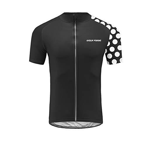Uglyfrog 2019 Design Radfahren Jersey Damen Mountainbike Trikot Full Zip Fahrrad Shirt Laufende Top Road MTB Kleidung Geschenke für Freunde DEDamenDJT01