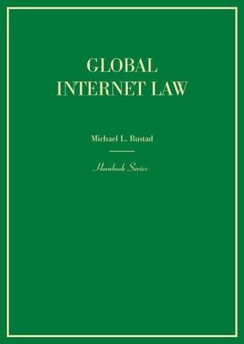 Global Internet Law (Hornbooks)