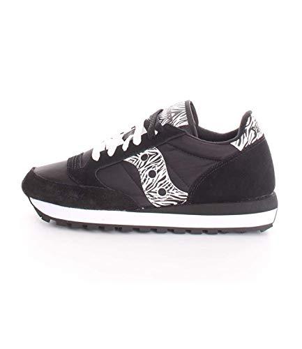 Saucony Jazz w Black Sneakers Donna 38.5, Black