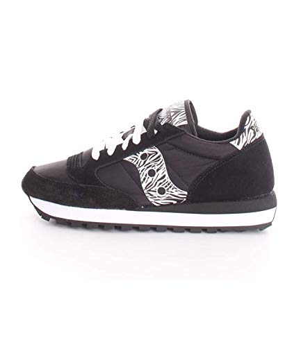 Saucony Jazz w Black Sneakers Donna 38.5, Black