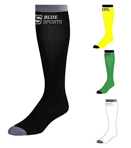 Blue Sports Hockey Socken Eishockey, Inliner Pro Skin Senior 1 Paar (gelb)