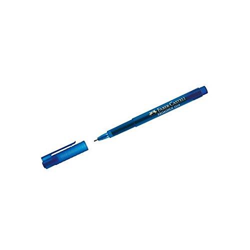 FABER-CASTELL Fineliner BROADPEN 1554, blau VE=10
