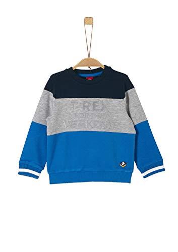 s.Oliver Jungen 63.911.41.2779 Sweatshirt, Blau (Blue 5545), 92/98 (Herstellergröße: 92/98/REG)