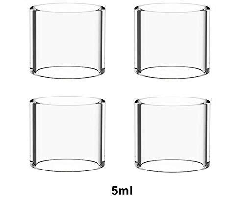 Without brand 03.04/2 / 1pcs Packung Hongxingjia Original-Pyrex Blase Glasrohr-Behälter gepasst for UD Bellus RTA Atomizer Tankinhalt (Farbe : 4pcs 5ml Glass)