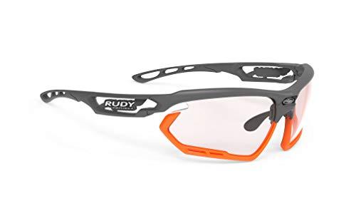 Rudy Project Fotonyk 2021 - Gafas de ciclismo (efecto fotocromático), color rojo