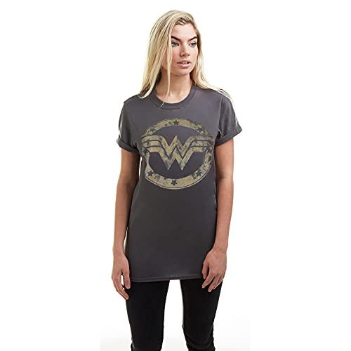 DC Comics Wonder Woman Metallic Logo...