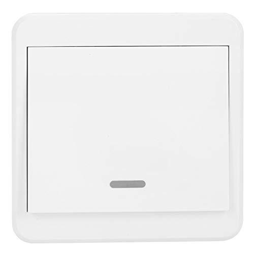 WIFI Smart Switch Panel, soporte para el control remoto ALEXA Google Home AC90-250V por teléfono móvil(01)
