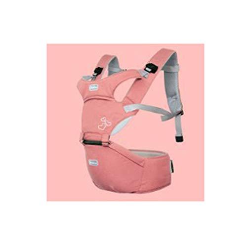 YCHSG Kindergurt Multifunktionstasche Einzelhocker Mutter und Kind liefert ergonomisch geformte Kindergurte,Pink