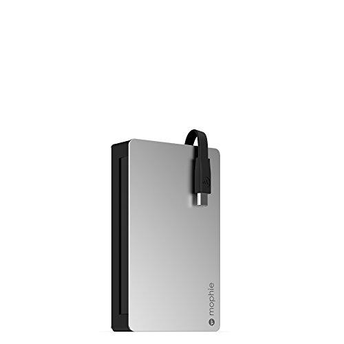 mophie PowerStation Plus 3X externer Akku (Micro USB, 5000mAh) – Schwarz