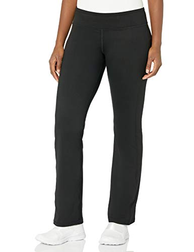 Hanes Women's Sport Performance Pant, Ebony, Large