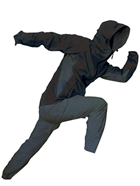 世辞アルネ部屋を掃除するトオケミ(TOHKEMI) 【Field Equipage】 全天候型 アウトドア(透湿レイン) ウェア FE ストレッチ (スリムフィット) Rain Suit (#7900) + キャリーポーチ セット (色選択可能)