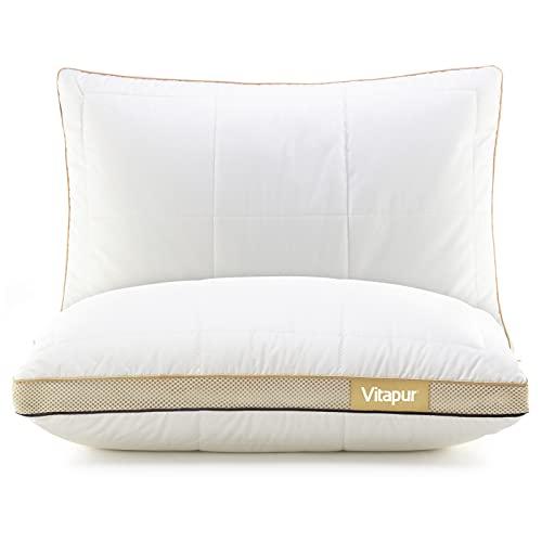 Vitapur NEO Kinderkopfkissen 40x60cm - EIN Neuer Standard für den Kinderschlaf - ab 3 Jahre I NEU - 2021