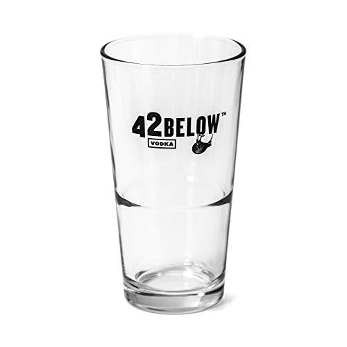 6 x 42 Below Vodka Gläser Profi Qualität Longdrinkgläser Cocktail Wodkaglas