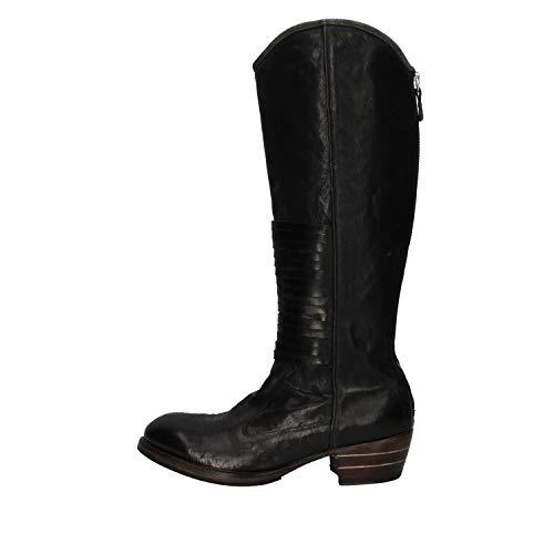 MOMA Stiefel Damen Leder schwarz 37 EU