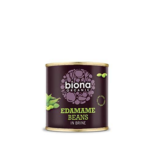 Biona Edamame (Habas De Soja Verdes) Ecológico - Vegetariano, Vegano, Paleo - Paquete 12 X 200 Gr