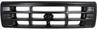 New Front Grille For 1992-1997 Ford F-Series, Black FO1200172 F6TZ8200AAA