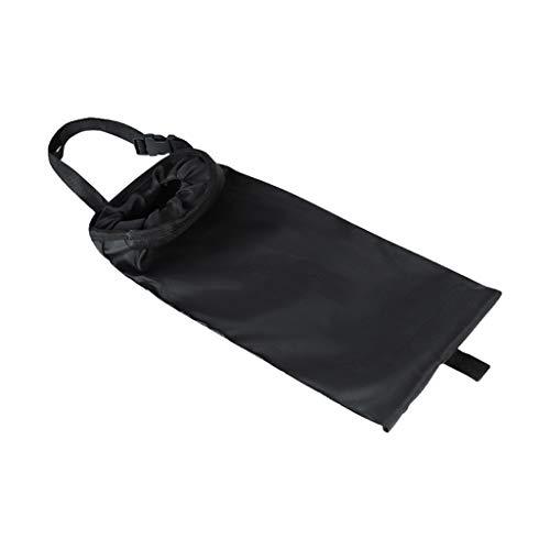 Milageto Bolsa de Basura para Bote de Basura Negro para Automóvil - Accesorios Interiores del Organizador