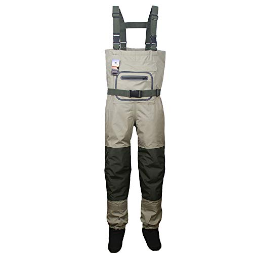 Kylebooker Fishing Breathable Stockingfoot Chest Wader KB002 (M)