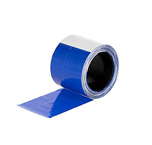 Eider Signalband, Herdenschutzband blau/weiß - 80 mm x 100 m - zur Kenntlichmachung von Elektronetzen und Elektrozäunen