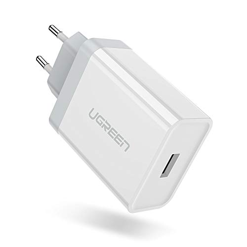 UGREEN Ladegerät 5A Super Charge Ladegerät Schnellladegerät USB Netzteil für Huawei P40, P20, P20 Pro, P10, P30, Honor 10, Mate 10, Mate 10 Pro, Honor 20, Honor 20 Pro, Honor View 10/20, Mate RS usw