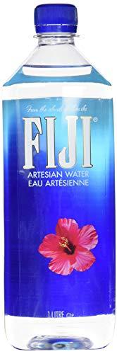 FIJI Water 1000 ml / 1 l, natürliches Quellwasser, 12er Pack (Einweg, 12 x 1000 ml)