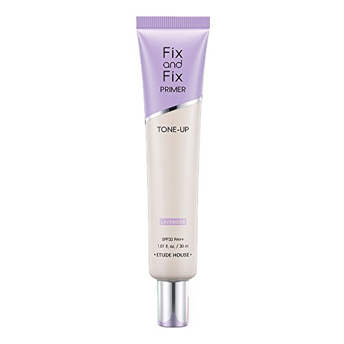 ETUDE(エチュード)フィックス&フィックストーンアッププライマーラベンダー[化粧下地、毛穴カバー、日焼け止め、紫]