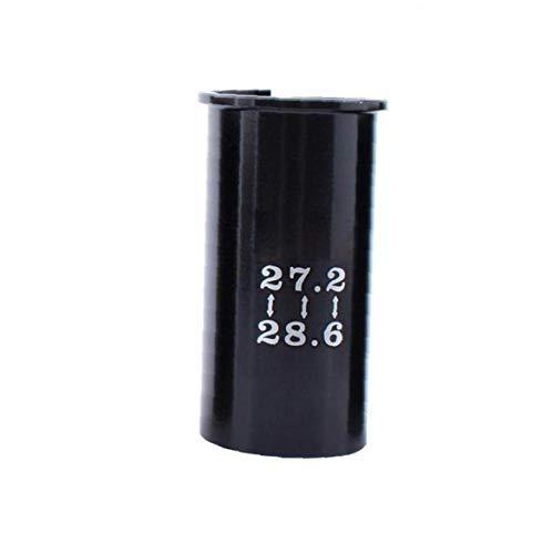 Ersatz-Sattelstützen-Adapter, Reduzierstück, langlebige Legierung, Satteladapter, Fahrradsattelrohr, 27,2 bis 28,6 Zoll, Fahrradzubehör
