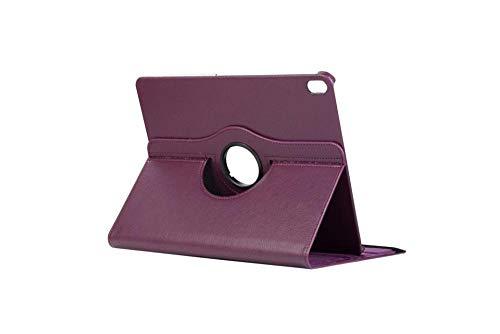 Apple iPad Pro 12.9 pulgadas plana funda de cuero conjunto de protección 360 soporte trasero shell anti-caída-púrpura_2020/2018 iPad Pro 12.9
