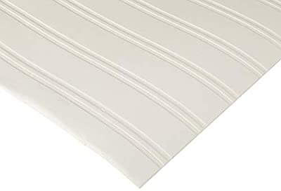 Graham & Brown Paintable Prepasted Beadboard Stripes Texture Wallpaper, White