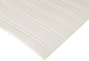 Graham & Brown Paintable Prepasted Beadboard Stripes Texture Wallpaper White