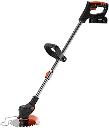1800W 36V / 15000Mah Batería Y Cargador Incluido Portátil Profesional Cortacésped Mower Agricultura Cordonable Weeder Garden Tool, 2 Battery