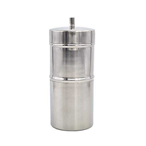 N1 TGS's Stainless Steel South Indian Filter Coffee Maker, Traditional Coffee drip Maker 200ML (4-5 Cups)