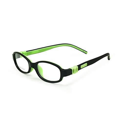 EnzoDate los niños las gafas–Optica tornillo plegables las gafas vasos TR90& silicona...