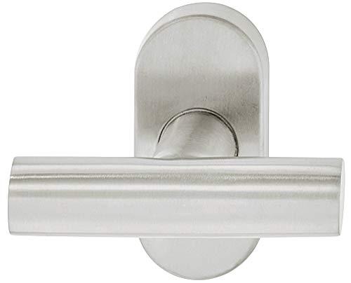 Gedotec Drehkipp-Rasterolive Fenstergriff Edelstahl Fensterolive T-Form WH2110 | Fenster-Beschlag mit 90°-Rasterung für Drehkippfenster | Edelstahl matt gebürstet | 1 Stück - Design-Griff für Fenster