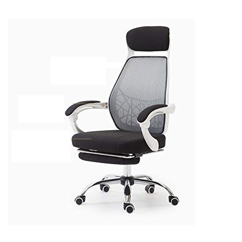 GYZCZX Computer Chair Home Office Chair Reclining Swivel Chair Mesh Seat Lunch Break Chair Gaming Chair
