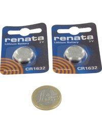 Accessoire type RENATA 103312, 3.0V, 125mAh, Lithium