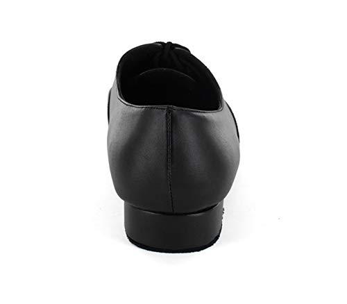 Minitoo ,  Herren Tanzschuhe , Schwarz – schwarz – Größe: 44 - 5
