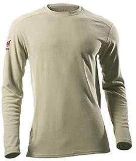 DRIFIRE Performance Long Sleeve FR T-Shirt, 2XL, Desert Sand, DF2-CM-265ALS-DS-2XL (DF2-CM-265ALS-DS-2X)