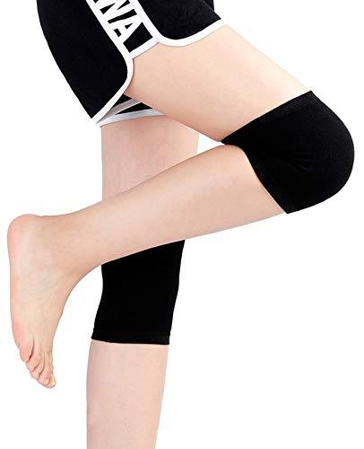 Kniebandage Unisex Für Stabilisierung Und Aktivierung Nach Verletzung, Operation Oder Bei Chronischen Wie Gonarthrose (Gelenkverschleiß) Oder Arthritis (Color : A, Size : Large)