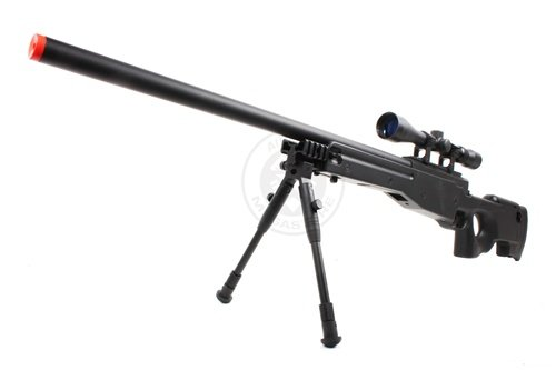 wellfire mk96 bolt action awp sniper rifle w/...