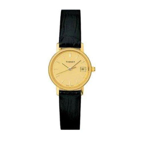 Tissot Damen-Armbanduhr Gold Goldrun T71311421