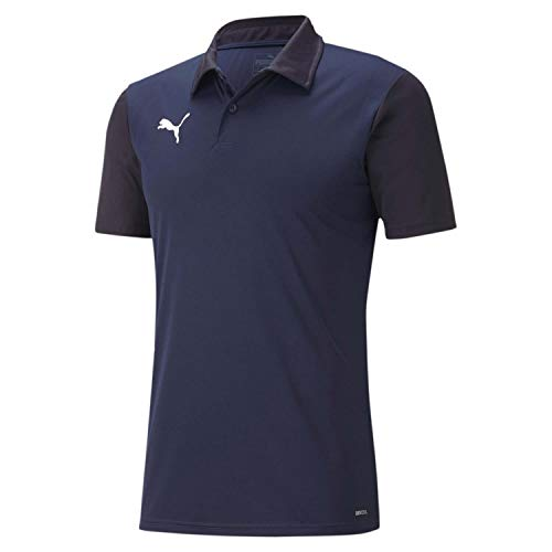 PUMA Herren, teamGOAL 23 Sideline Polo Poloshirt, Peacoat-New Navy, XL