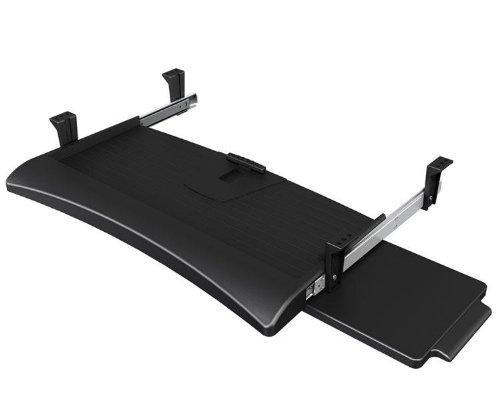 Dataflex 0805410972233 toetsenbord- en muisuittreksel, metaal, zwart, 58 x 42,5 x 8 cm