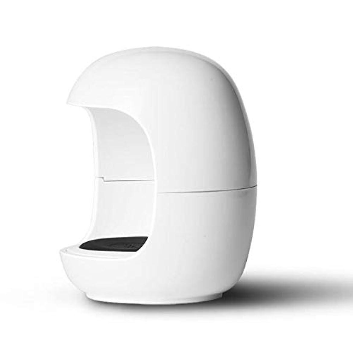 Cikuso 新しい卵形状 ネイルuvランプ ミニポケットジェルネイルポリッシュドライヤー ポータブル シングルネイルLED uv硬化ライトランプ