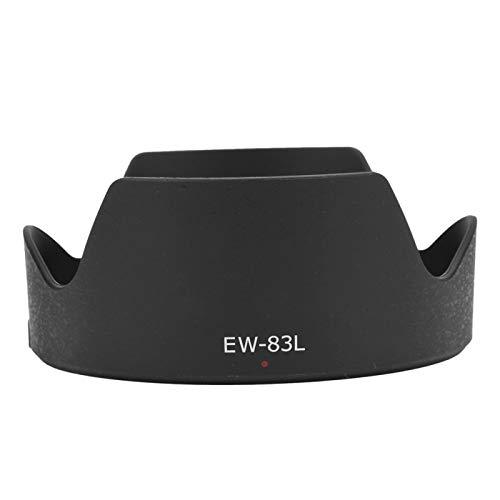Sxhlseller Parasol del Objetivo Canon EF 24-70 mm f / 4l L IS USM, Utilizado para fotografía a contraluz, Resistente a la Arena y a los arañazos, para Evitar la luz parásita y Las interferencias