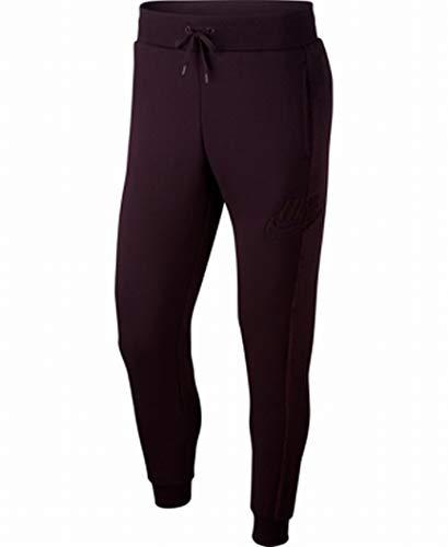 Nike Mens Activewear Bottoms Small Joggers Fleece Pants Purple S