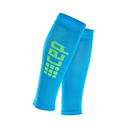CEP - Ultralight Calf Sleeves für Damen | Beinstulpen für exakte Wadenkompression in blau/grün | Größe II